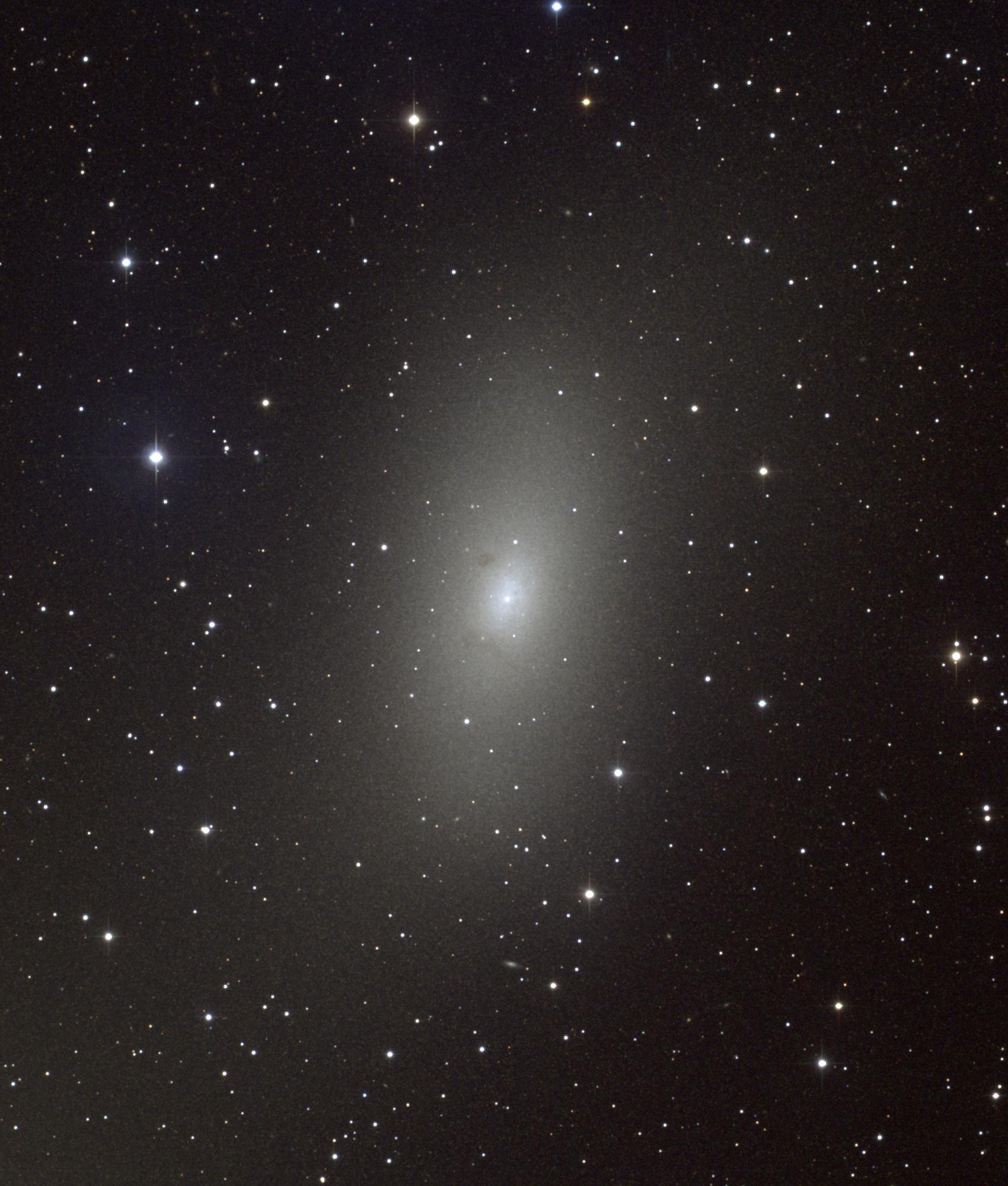 Andromina Significado galáxias elípticas